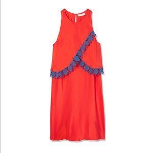 Tory Burch Amanda Dress in Poppy Red